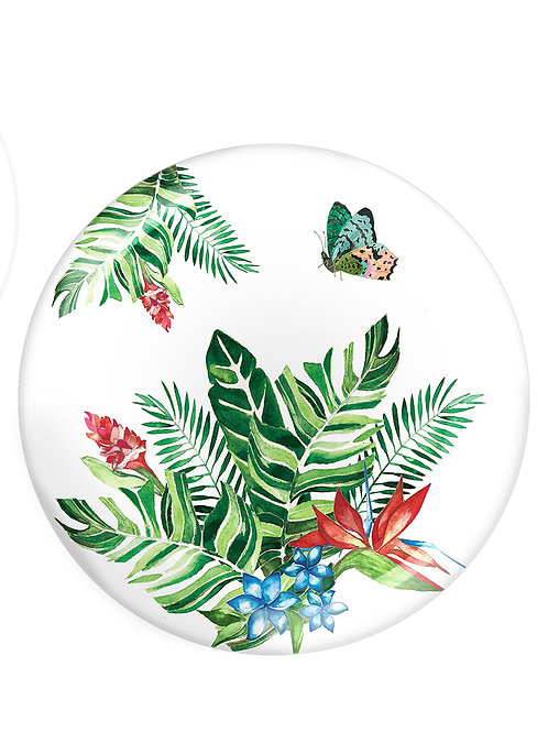 Fern&Co 4'lu Butterfly Collection Buyuk Tabak Seti