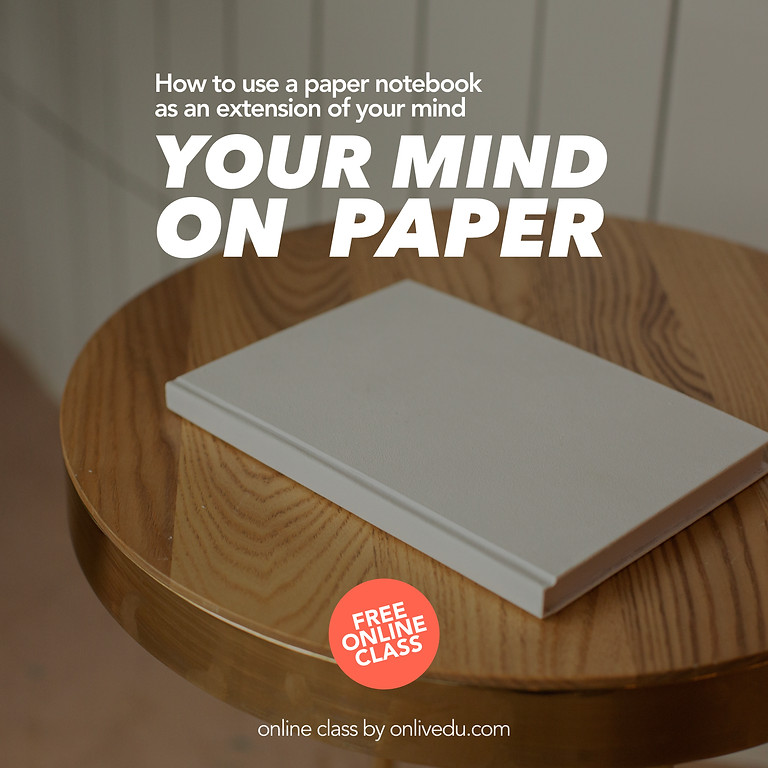 Your Mind On Paper