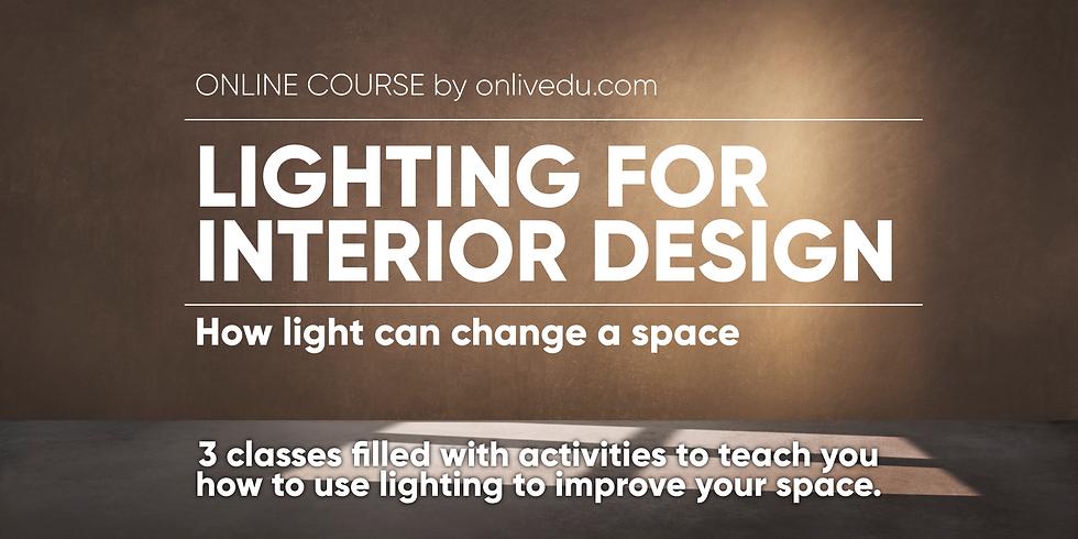 Lighting for Interior Design
