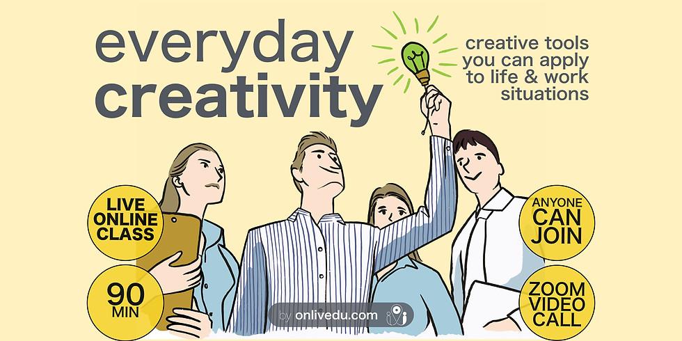 Everyday Creativity - class