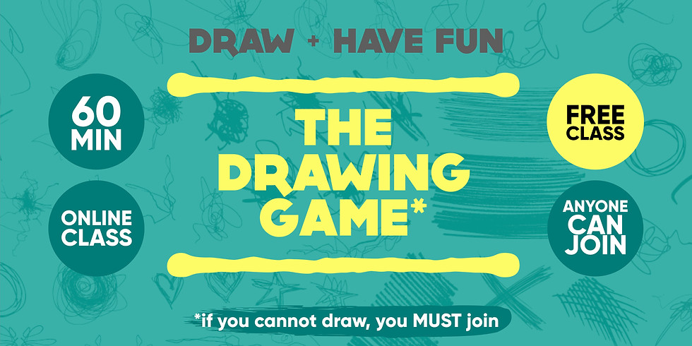 The drawing game - free class