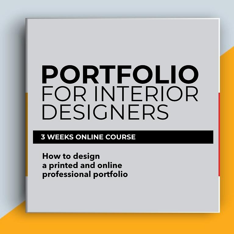 Portfolio for interior designers