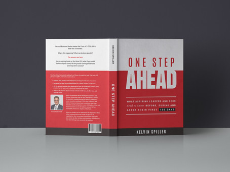 Book Launch:  One Step Ahead by Kelvin Spiller