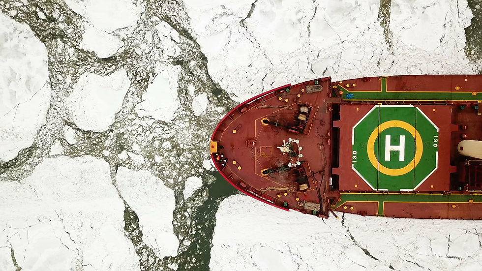 Aerial view. ship moving in frozen sea.jpg