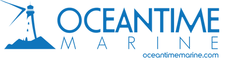 Ocean time Marine Logo