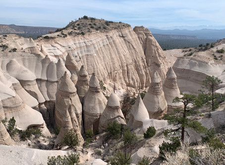 Three leadership lessons at tent rocks