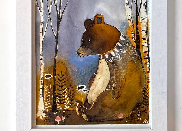 Custom 8 x 10 Original Painting - Ruth Bader Ginsbear