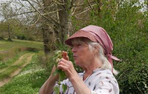Marie Aline QUEFFURUS Botaniste 25 avril