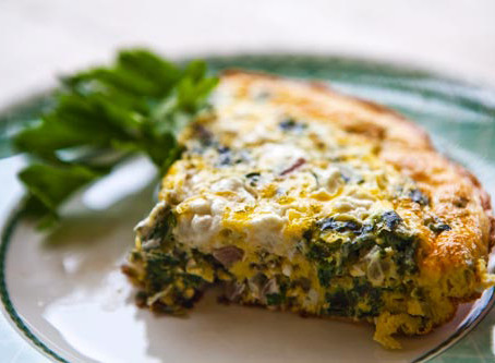 Popeye and Spuds Frittata--Spirit Cleanse