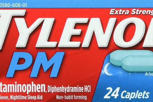TYLENOL PM EXTRA STRENGTH CAPLET 24CT