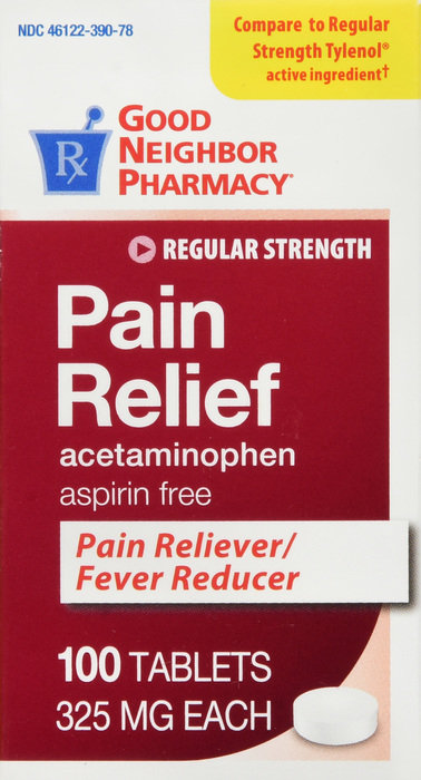 GNP Pain Relief 325MG TAB 100CT