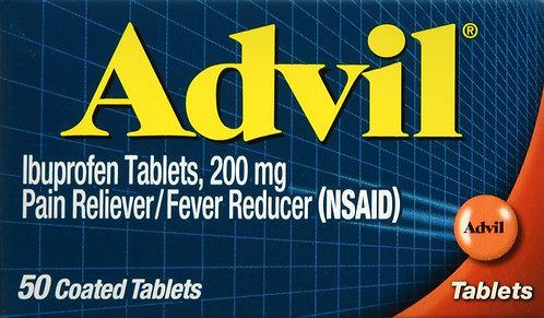 ADVIL TABLET 50CT