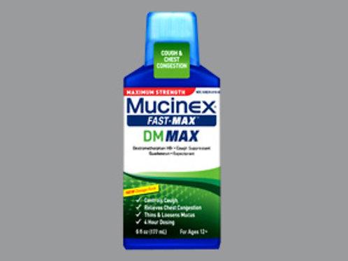 MUCINEX DM FAST MAX LIQUID 6OZ