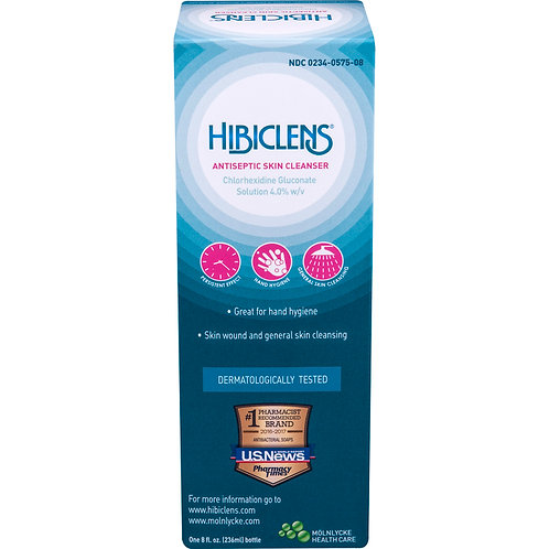 HIBICLENS LIQ 236ML (8OZ) BOTTLE