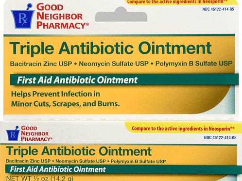 GNP TRIPLE ANTIBIOTIC OINTMENT 0.5OZ