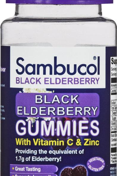 SAMBUCOL BLACK ELDERBERRY GUMMIES 30CT