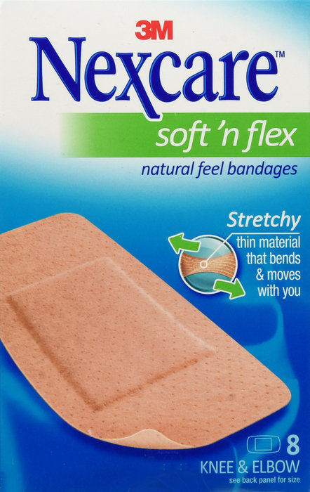 NEXCARE COMFORT KNEE ELBOW 8CT