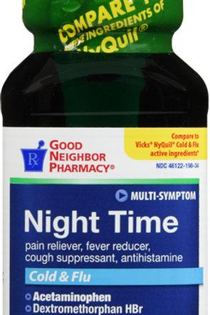 GNP NIGHT TIME ORIG LIQ 8OZ