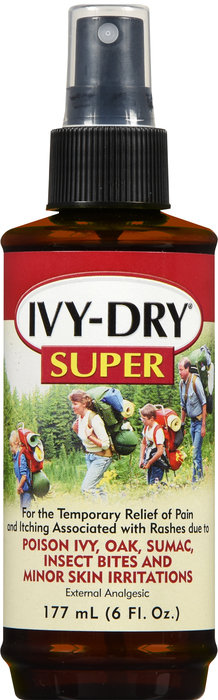 IVY DRY SUPER ANTI ITCH SPRAY 6OZ