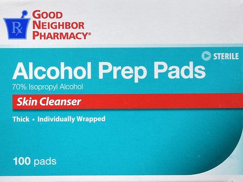 GNP ALCOHOL PREP PAD 100CT