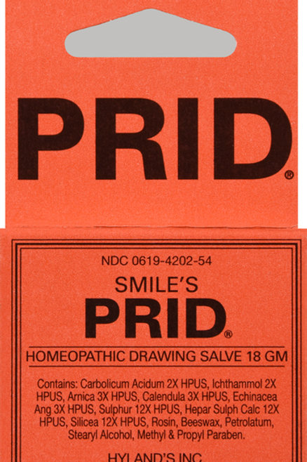 HYLANDS PRID DRAWING SALVE OINTMENT 18GM