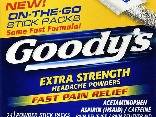 GOODYS POWDER X/S HEADACHE 24CT