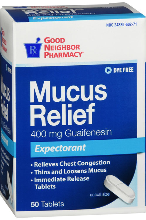 GNP MUCUS RELIEF TAB 50