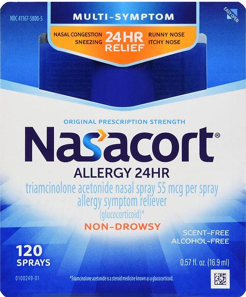 NASACORT OTC 120 SPRAYS 0.57OZ