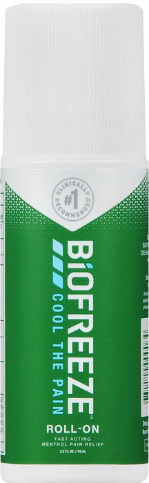 BIOFREEZE PAIN RELIEF ROLL ON 2.5OZ