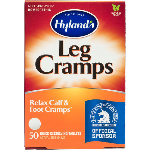 HYLANDS LEG CRAMP TABLET 50CT