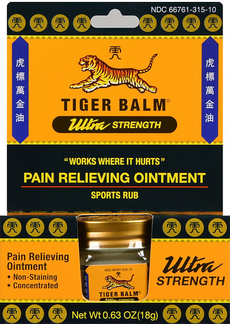 TIGER BALM OINTMENT ULTRA STRENGTH 18GM