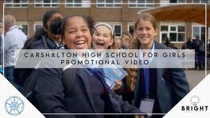 Carshalton High School for Girls | Promotional Video