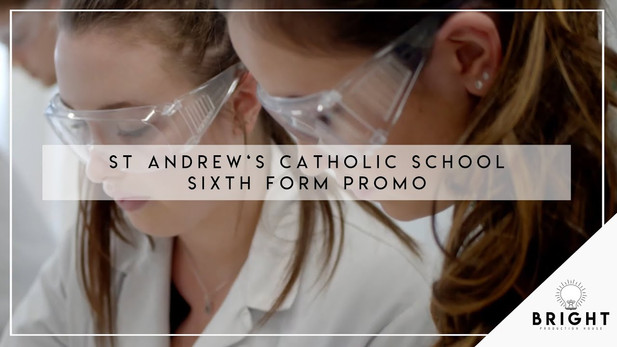 St. Andrew's Catholic School Sixth Form Promotional Video