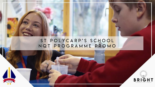 St. Polycarp's School NQT Programme Promotional Video