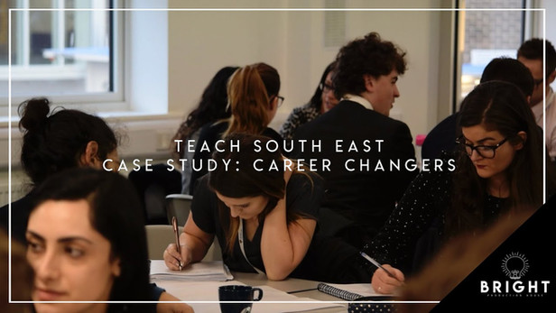 Teach South East Case Study: Career Changers