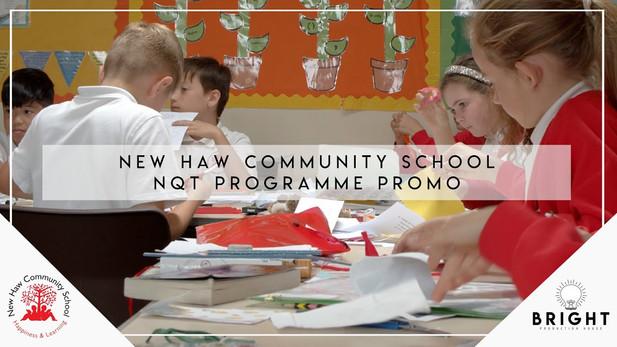 New Haw Community School NQT Programme Promotional Video