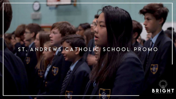 St. Andrew's Catholic School Promotional Video