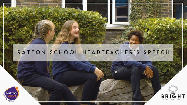 Ratton School | Headteacher's Speech