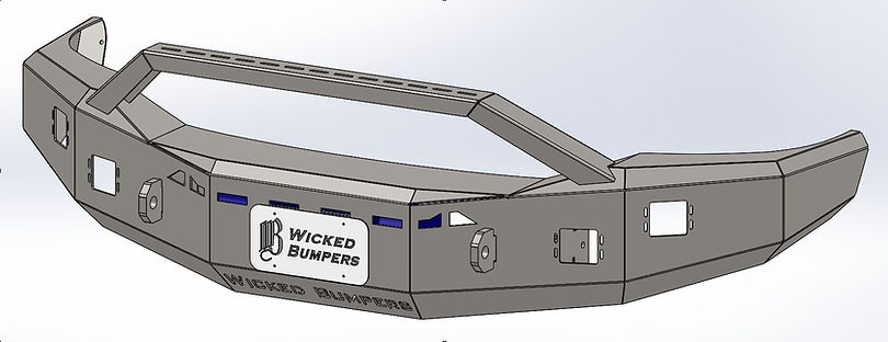 2003-2009 Ram Bullbar bumper (McCown Spe