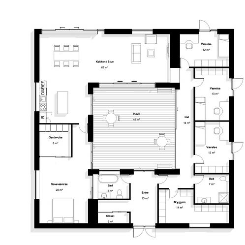 Atrium 240m2