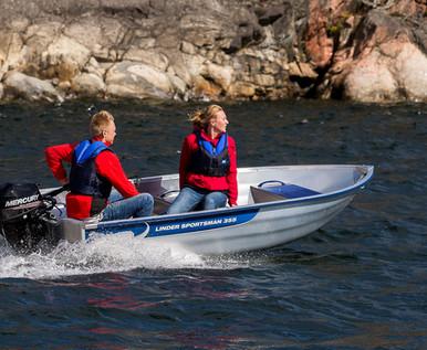Linder Sportsman 355 Boat