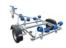 EXT350 Roller Boat Trailer Cornwall