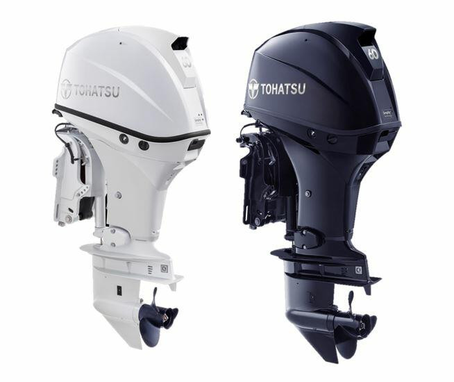 Tohatsu 60hp Light weigh Outboard