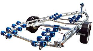 EXT1900 Super RollerBoat Trailer