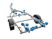 EXT750 Roller Boat Trailer
