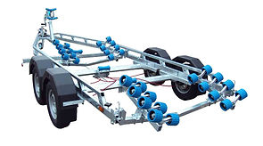 EXT2400 Super Roller Boat Trailer