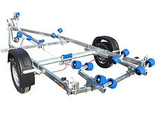 EXT1100 Super Roller Boat Trailer