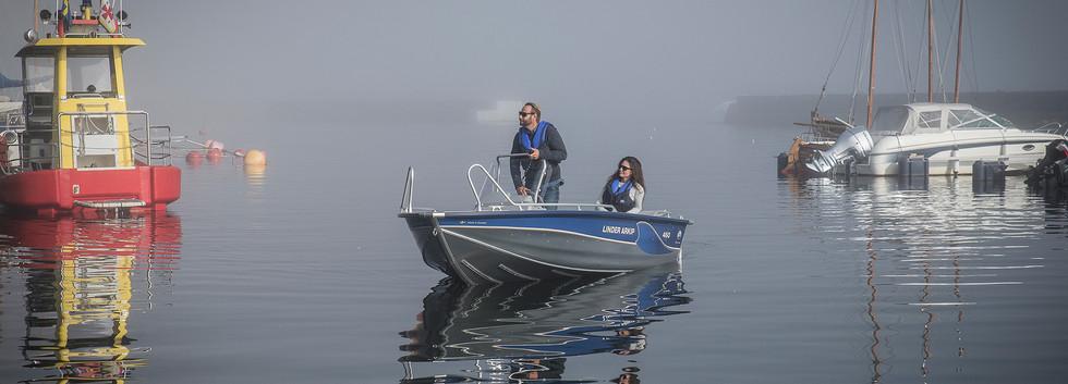 Linder Arkip 460 Boat