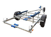 Keel boat trailer sailor