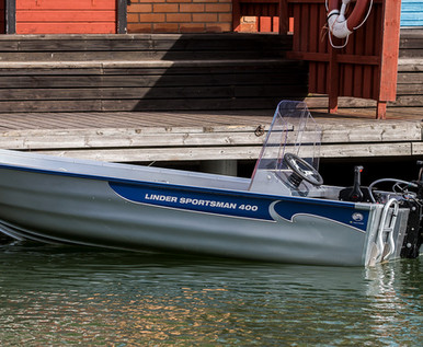 Linder Sportsman 400 Boat